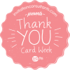 Thank You Card Week